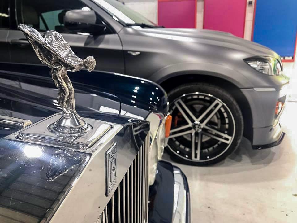 Vehículo Rolls Royce